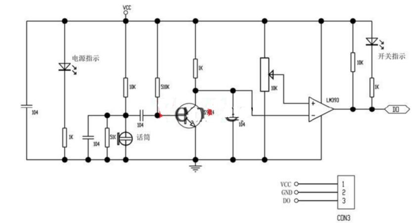 声音传感器模块使用说明